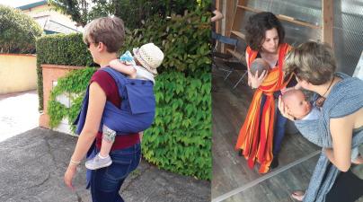 Zoom sur le portage physiologique avec Les P'tits Sages - Le Carnet d'Adresses des Parents - Le Blog